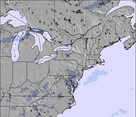 Appalachians and Great Lakes Mapa de Neve (3 dias)
